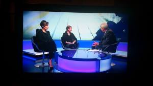Kat Cormack on Newsnight