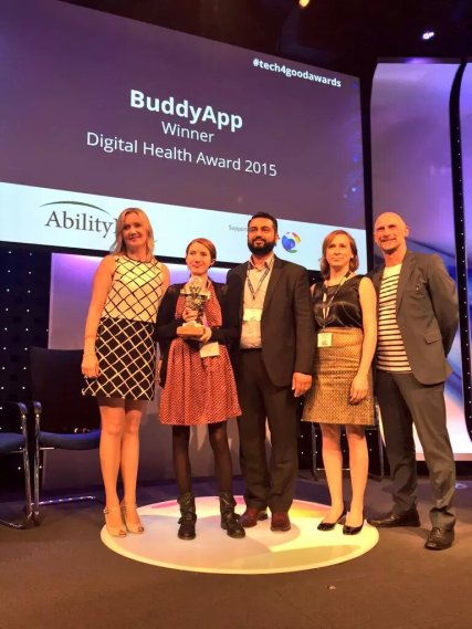 Buddy App Digital Health Awards.jpg